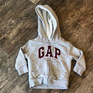Gap fur lined hoodie